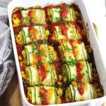 Enchiladas vegan di zucchine