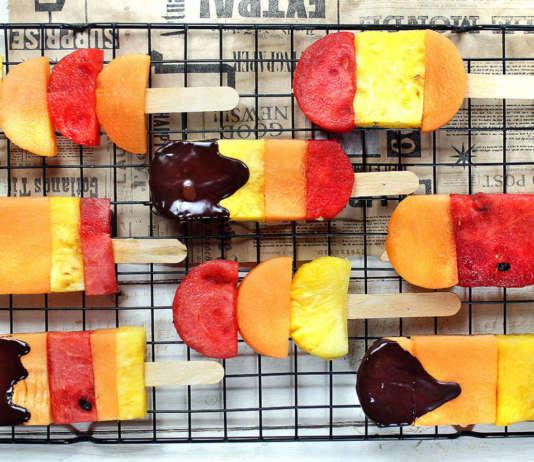 Idea dessert di frutta fresca