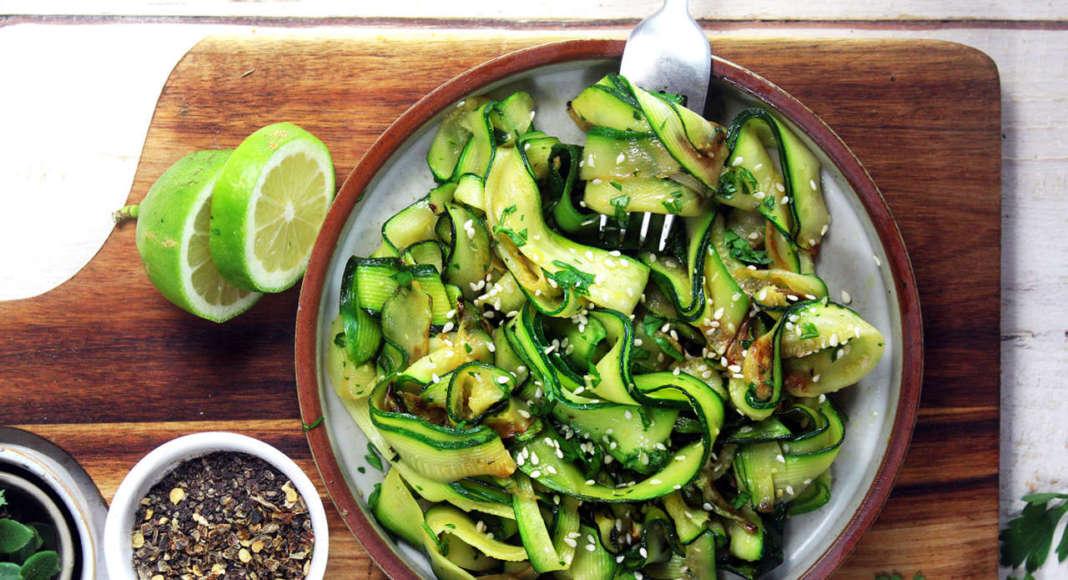 Tagliatelle di zucchine
