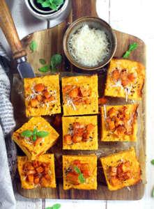 Tortino salato di carote