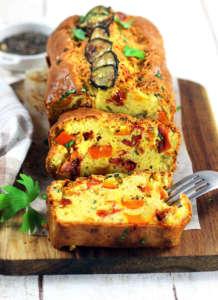 Plumcake di verdure al forno